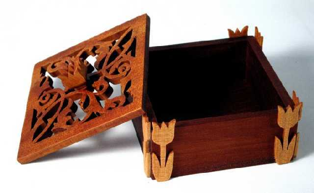 Fretwork Box