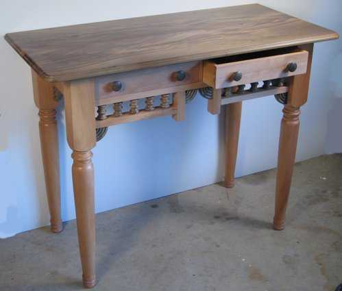Elegant Swamp Kauri Hall Table