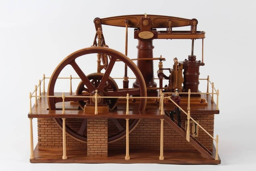 <h4>First:</h4><h2> Earl Hanson</h2><h5> Beam Steam Engine</h5>