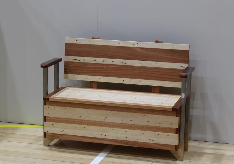 <h4>Highly Commended:</h4><h2> Tom Santing</h2><h5> Bench Toy Box</h5>