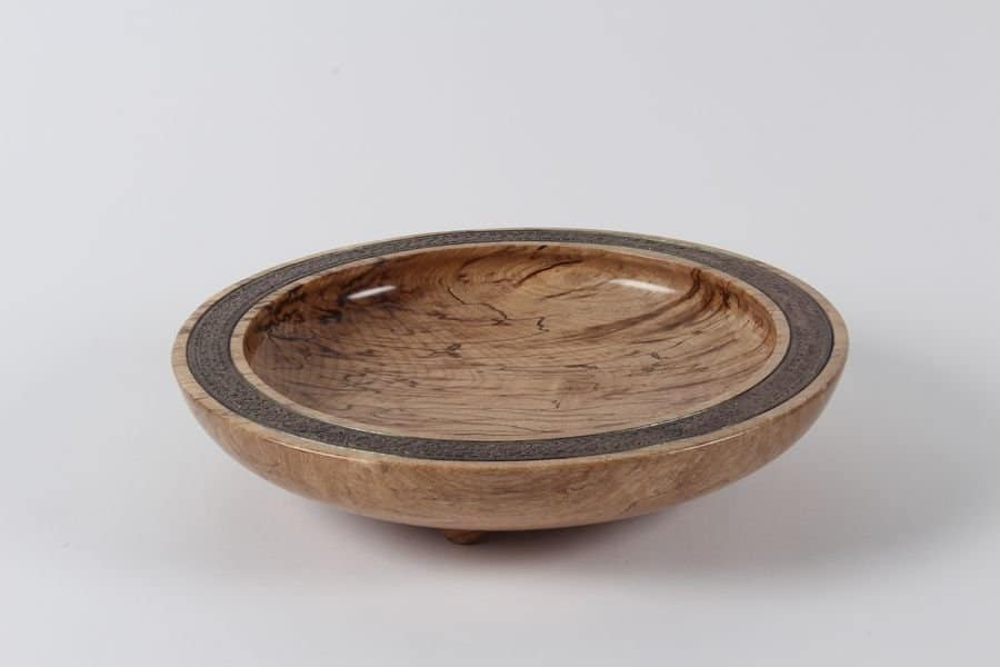 <h4>Highly Commended:</h4><h2> Leith Gray</h2><h5> Spalted Bowl</h5>