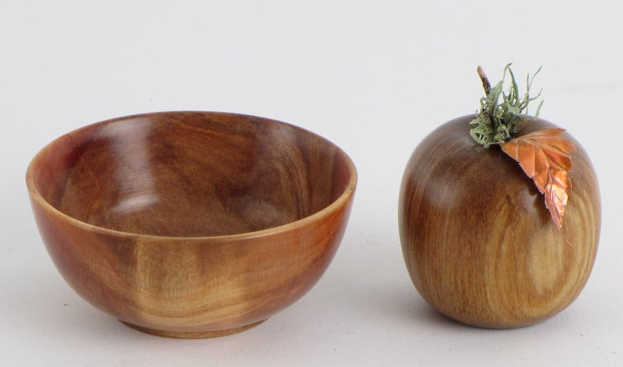 Fruit Bowl and Apple