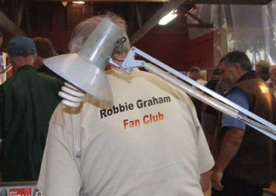 Who is this Robbie Graham character
