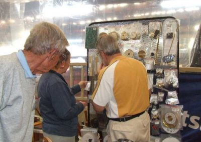 Jim Lowe supported the jamboree with his large range of Project hardware and tools for sale