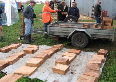 Ross and Heather Vivian complimented the range of wood with some fine Taranaki Rimu