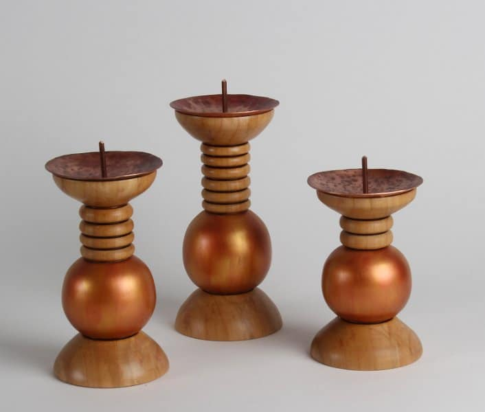 Candle Stick Trio