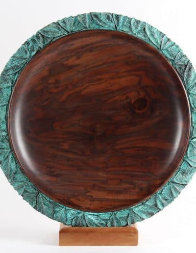 <h4>3rd </h4><h2>  Terry Scott</h2><h5> Walnut with Leaves