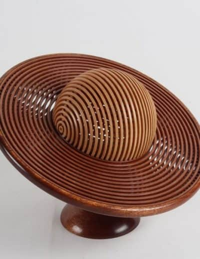<h4>Highly Commended:</h4><h2> Bruce Cowley</h2><h5> Saturn Bowl </h5><h5>Mahogany</h5>