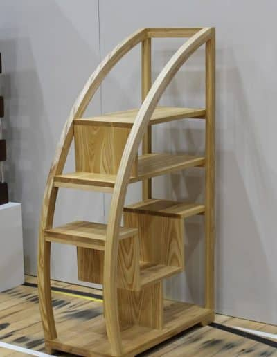 <h4>Highly Commended:</h4><h2> Ravi Kumar</h2><h5> Book Case</h5><h5> Ash Wood</h5>
