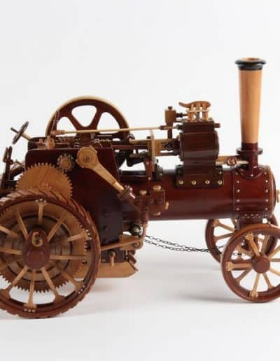 First Earl Hansen Steam Tractor