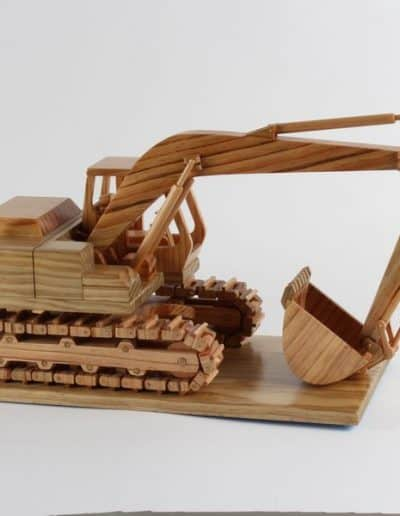 Highly Commended: John Van Boheemen Excavator