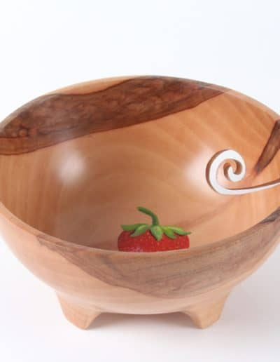 Strawberry Yarn Bowl